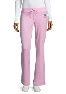 Juicy Couture Solid Drawstring Pants