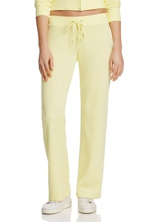 Juicy Couture Black Label Terry Flare Pants - 100% Exclusive