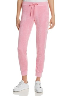 Juicy Couture Black Label Terry Zuma Track Pants - 100% Exclusive