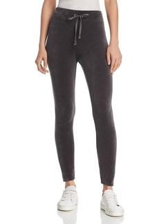 Juicy Couture Black Label Velour Logo Leggings
