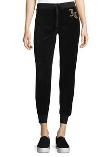 Juicy Couture Black Label Velour Track Pants