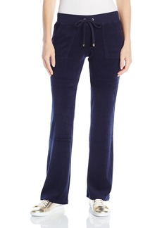 Juicy Couture BLACK LABEL Women's Bling Bootcut Terry Pant
