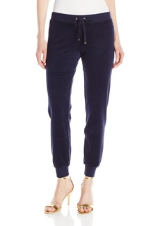 Juicy Couture Black Label Women's Bling Slim Terry Pant