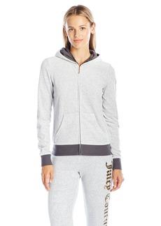 Juicy Couture Black Label Women's Ft Vlr Juicy Lace Robertson Jacket  XL