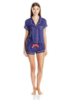 Juicy Couture Black Label Women's Girlfriend Pajama Set