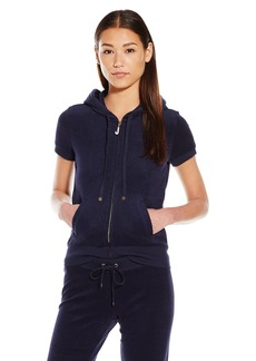 Juicy Couture Black Label Women's J Bling Terry Ss Jacket