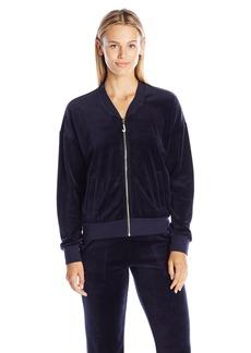 Juicy Couture Black Label Women's J Bling Westwood Velour Jacket  S