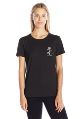 Juicy Couture Black Label Women's KNT Jersey Juicy Iconic Tee  L