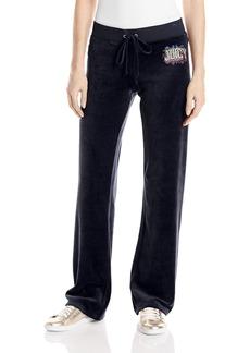 Juicy Couture Black Label Women's Logo Jc Collegiate Vlr Orig Pant