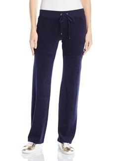 Juicy Couture BLACK LABEL Women's Logo Terry Sol Sequins Original Pant
