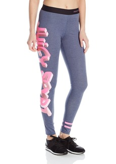 Juicy Couture Black Label Women's Sport Denim Compression Legging