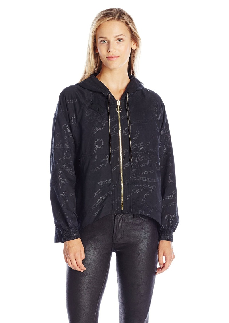 Juicy Couture Black Label Women's Spt Wild and Free Anorak  L