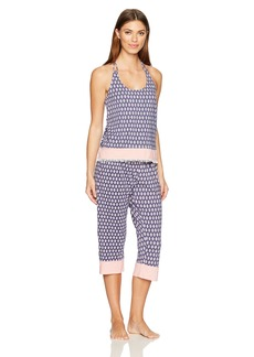 Juicy Couture Black Label Women's Strappy Cami and Crop Pant  XS