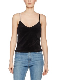 Juicy Couture Black Label Women's Stretch Velour Cami  L