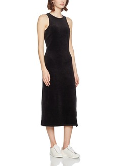 Juicy Couture Black Label Women's Stretch Velour Fitted Tank Dress  L