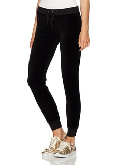 Juicy Couture Black Label Women's Trk Velour Zuma Ii Pant  XL