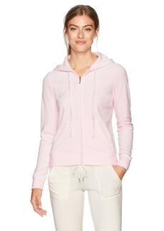 Juicy Couture Black Label Women's Velour Robertson Hoodie Jacket  L