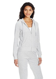 Juicy Couture Black Label Women's Velour Robertson Jacket  XL