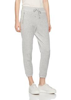 Juicy Couture Black Label Women's Velour Silverlake Sleek Fit Pant  S