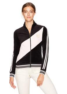 Juicy Couture Black Label Women's Velour Sporty Heritage Jacket  S