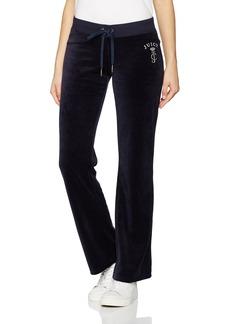 Juicy Couture BLACK LABEL Women's Velour Spring Bouquet Del Rey Pant  XL