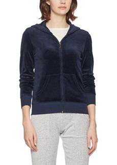 Juicy Couture Black Label Women's Velour Spring Bouquet Robertson Jacket  XL