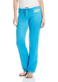 Juicy Couture Black Label Women's Yo Juicy Straight Track Pant