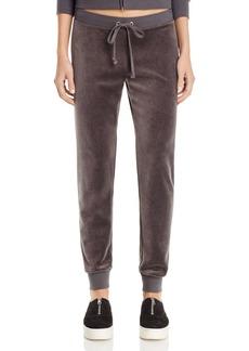 Juicy Couture Black Label Zuma Velour Jogger Pants - 100% Exclusive