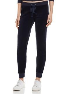Juicy Couture Black Label Zuma Velour Jogger Pants