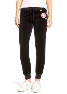 Juicy Couture Call Me Juicy Zuma Velour Track Pants