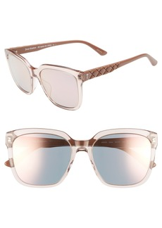 Juicy Couture Core 55mm Square Sunglasses