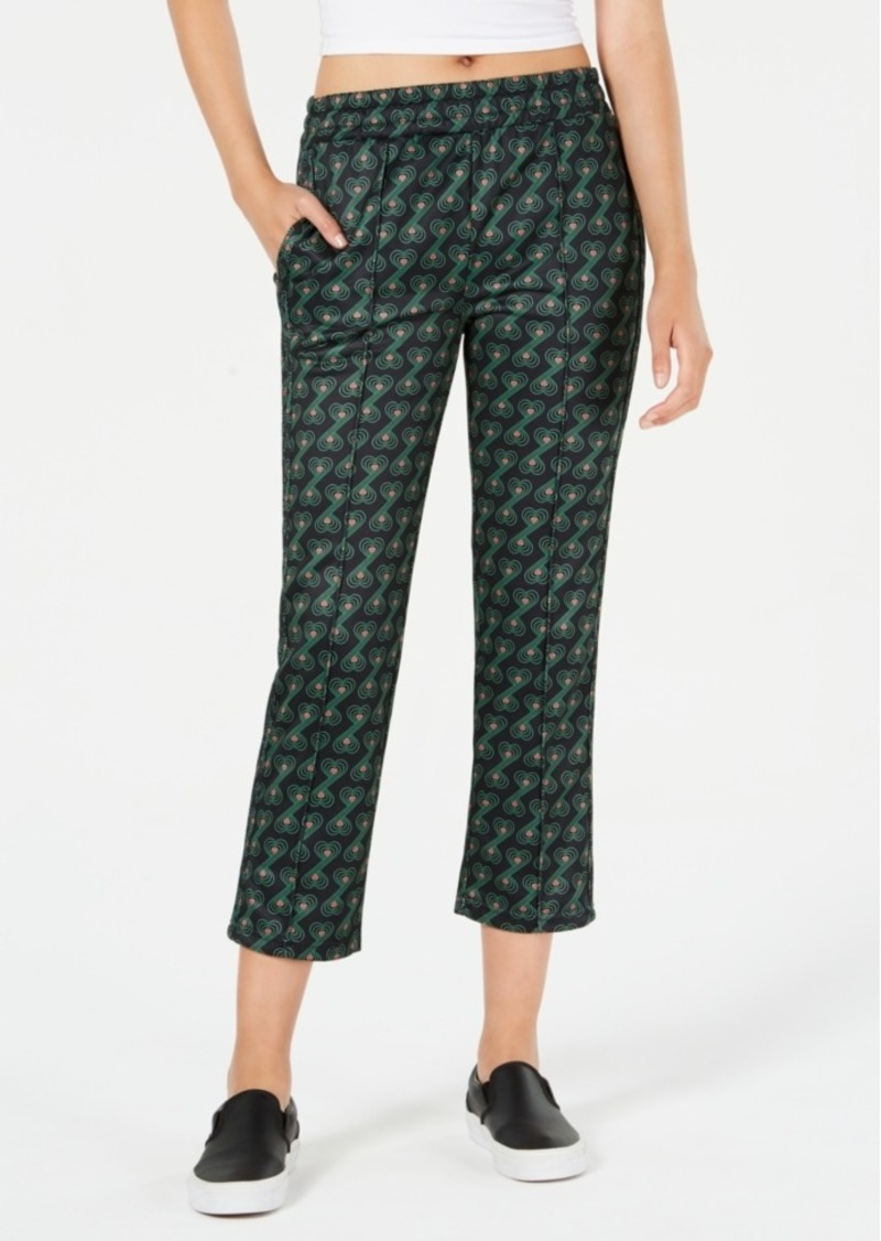 Juicy Couture Cropped Printed Track Pants