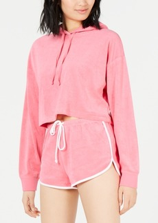 Juicy Couture Cropped Terry Hoodie