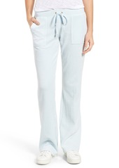 Juicy Couture Del Rey Microterry Track Pants