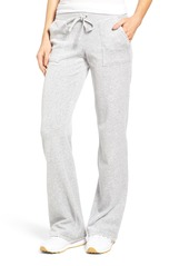Juicy Couture Del Rey Velour Track Pants
