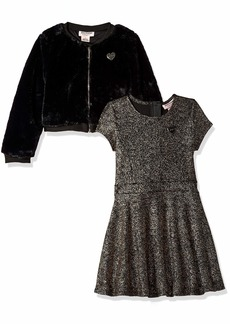 Juicy Couture Girls' Big 2 Pieces Dress Set  8/10