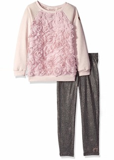 Juicy Couture Girls' Big 2 Pieces Pant Set  8/10