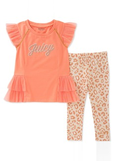 Juicy Couture Girls' Big 2 Pieces Tunic Set