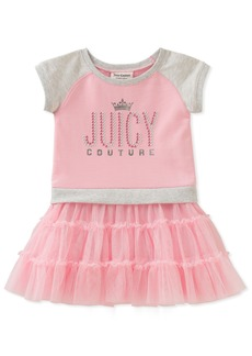 Juicy Couture Girls' Big Casual Dress  8/10