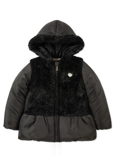 Juicy Couture Girls' Big Hooded Jacket