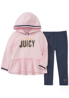 Juicy Couture Girls' Little 2 Pieces Tunic Legging Set
