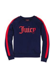 Juicy Couture Girls' Logo Sweater - Big Kid