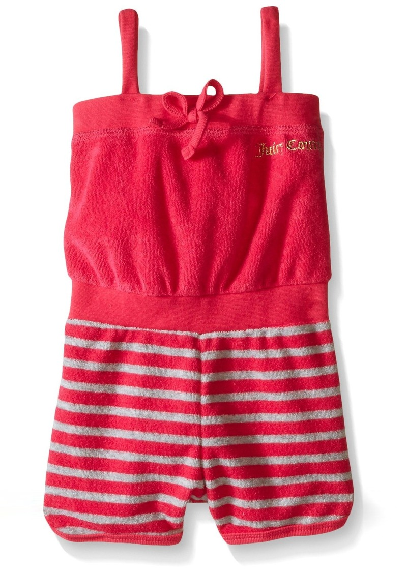 Juicy Couture  Girls' Romper with Loop Terry