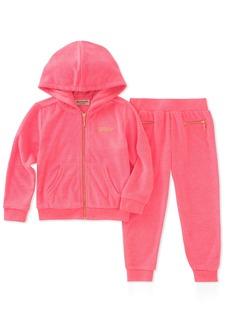 Juicy Couture Girls' Toddler 2 Pieces Jog Set