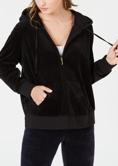 Juicy Couture Trendy Plus Size Robertson Velour Hoodie
