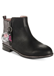 Juicy Couture Little & Big Girls Charm Ankle Booties