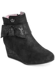 Juicy Couture Little & Big Girls Jc Sausilito Sparkle Wedge Boots
