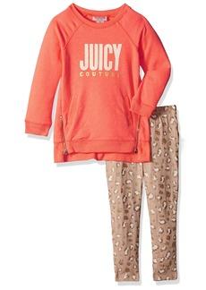 Juicy Couture Little Girls' 2 Piece Pant Set