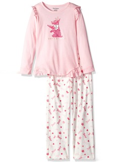 Juicy Couture Girls' Little 2 Pieces Pajama Set
