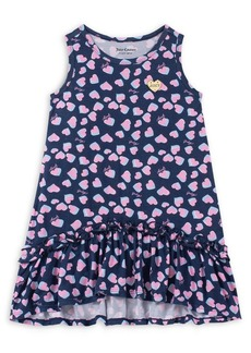 Juicy Couture Little Girl's & Girl's Heart-Print High-Low Dress